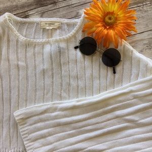 NWT Rue21 Bell Sleeve Cropped Sweater